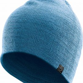 The Stormtech Avalanche Knit Beanie is a heathered fine gauge knit beanie that performs in cool weather conditions while an on trend design keeps you looking your best.