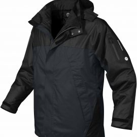 The Stormtech Mens Fusion 5 in 1 System Jacket is a highly functional 5 in 1 system jacket. 3 colours. Great branded winter jackets & uniforms.