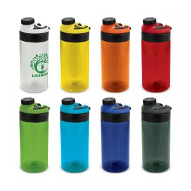 The Trends Collection Olympus Drink Bottle is a 600ml translucent drink bottle.  8 colours.  Wide Top Opening.  Great branded drink bottles.