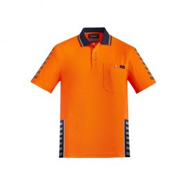 The Syzmik Mens Komodo Polo is a 175gsm hi vis polo.  6 colours.  Hi Vis compliant.  XXS - 7XL.  Great branded hi vis polos from Syzmik.