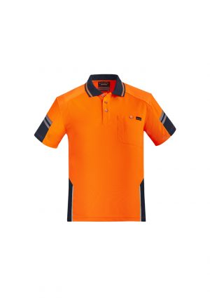 The Syzmik Reinforced Hi Vis Squad Short Sleeve Polo is a 100% polyester, 175gsm polos. 2 colours. XXS - 7XL. Great branded hi vis short sleeve polo shirt.