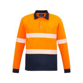 The Syzmik Unisex Hi Vis Segmented L/S polo is a 175gsm polyester hi vis polo shirt. 2 colour options. Great branded hi vis polos & workwear from Syzmik.
