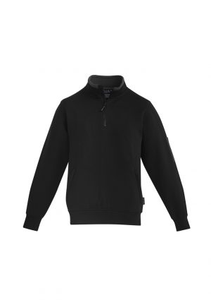The Syzmik Mens 1/4 Zip Brushed Fleece is a 65% polyester, 320gsm heavy weight fleece.  3 colours.  Great branded fleeces from Syzmik