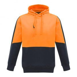 The Syzmik Unisex Hi Vis Pullover Hoodie is a warm 320gsm pullover hoodie in 4 colours.  XXS - 7XL.  Great branded hi vis hoodies for your team from Syzmik.