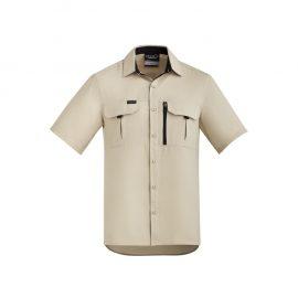 The Syzmik Mens Outdoor Short Sleeve Shirt is a 100% polyester ripstop lightweight work shirt. 6 colours. XXS - 7XL. Great branded long sleeve work shirts.