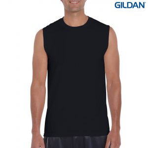 The Gildan Ultra Cotton Adult Sleeveless Shirt is a 100% Cotton 200gsm singlet. 4 colours. Great printable classic fit tank tops and singlets from Gildan.