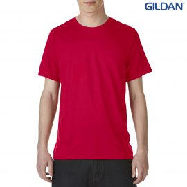 The Gildan Performance Adult Tech T-Shirt is an active fit, polyester adult tee. XS - 3XL. 7 colours. Great branded performance tees from Gildan.