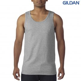 The Gildan Heavy Cotton Adult Singlet is a 180gsm 100% cotton jersey adult singlet. 8 colours. Great cost effective adult tank tops ready for branding.