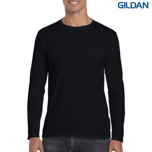 The Gildan Adult Long Sleeve T Shirt is a 100% cotton fitted long sleeve tee. 4 colours. S - 3XL. Great branded long sleeve tees from Gildan.