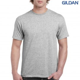 The Gildan Hammer Adult T Shirt is a 100% cotton preshrunk jersey knit tee.  Classic fit.  S - 5XL.  Great printable cotton tees from Gildan.