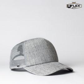 The UFlex Foam Trucker Cap is a 5 panel polyester/nylon trucker cap. 5 colours. One size. Great branded U-Flex headwear.