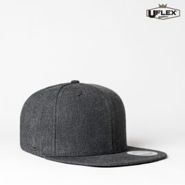 The UFlex Snap Back 6 Flat Peak Cap is an acrylic/wool constructed 6 panel cap. Embroidery or transfer recommended. 9 colours. Great branded caps.