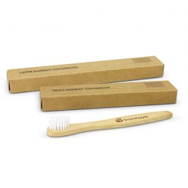 The Trends Collection Bamboo Toothbrush is an eco friendly tooth brush available in 2 sizes.  Printed or engraving options.  Great eco toothbrushes.