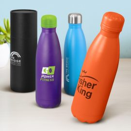 The Trends Collection Mirage Powder Coated Vacuum Bottle is a premium quality 500ml vacuum stainless steel bottle. 13 colours. Great branded products.