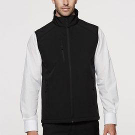 The Aussie Pacific Mens Olympus Softshell Vest is a 320gm 3 layer performance softshell.  4 colours.  S - 5XL.  Great Aussie Pacific softshell jackets.