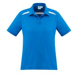 The Biz Collection Sonar Ladies polo is an 80% biz cool polyester polo.  4 colours. 6 - 24.  Great branded Biz Collection Biz Cool polos.