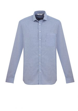 The Biz Collection Mens Jagger Long Sleeve Shirt is a 60% cotton short sleeve shirt. 2 colours. XS - 5XL. Great work shirts from Biz Collection.