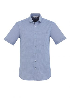 The Biz Collection Mens Jagger Short Sleeve Shirt is a 60% cotton short sleeve shirt.  2 colours. XS - 5XL.  Great work shirts from Biz Collection.