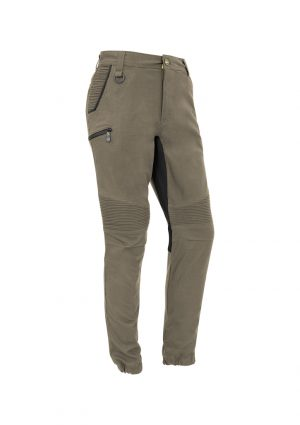 The Syzmik Mens Streetworx Stretch Pant comes in 4 colours. 97% cotton. Great option for the team for work wear pants. Multiple pockets.