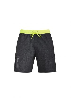 The Syzmik Streetworx Stretch Work Board Short is made from lightweight, quick dry fabric. Grey Marle or Navy Marle. XXS - 7XL. Great work shorts.