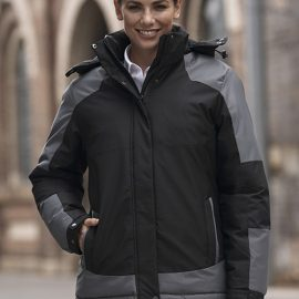 The Aussie Pacific Ladies Kingston Jackets are an 150gm polyester twill outer. with a polyester padding inner.  3 colours.  8 - 22.  Great branded padded jackets.