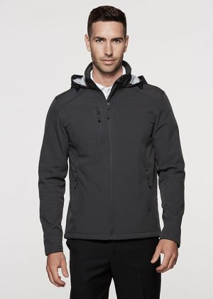 The Aussie Pacific Mens Olympus Softshell Jacket is a 320gm 3 layer performance softshell.  8 colours.  S - 5XL.  Great Aussie Pacific softshell jackets.