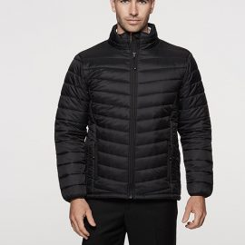 The Aussie Pacific Mens Buller Puffer Jacket has a polyester satin finish outer, with inner taffeta lining.  2 colours.  S - 5XL.  Great branded winter jackets.