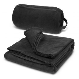 The Trends Collection Carlton Polar Fleece Blanket is a soft fleecy blanket for indoor or event use.  Black.  Great embroidered blankets.