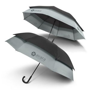 The Trends Collection Swiss Peak Expandable Umbrella is a precision umbrella that expands outwards when opened.  8 panel.  Great branded umbrellas.