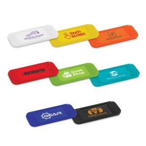 The Trends Collection Eye-Spy Webcam Cover is a cover that installs easily over webcams. 7 colours. Great branded security promo products.