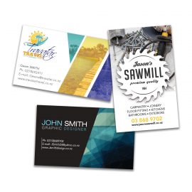 The Trends Collection Full Colour Business Cards are printed on sturdy 300gsm gloss finish art board.  Print both sides.  Great printed business cards for you to stand out.