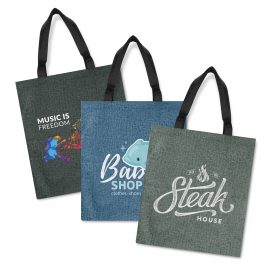 The Trends Collection Viva Heather Tote Bag is a large reusable tote bag with heather style finish. 3 colours. Great branded heather tote bags.