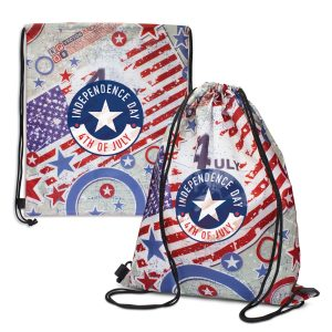 The Trends Collection Tacoma Drawstring Backpack is a large, full colour, sublimation printed, drawstring backpack. Great branded drawstring backpacks.