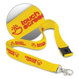 The Trends Collection 3D Logo Lanyard is a 20mm wide polyester lanyard with unique 3D branding.  14 colours.  Great 3D branded lanyards.