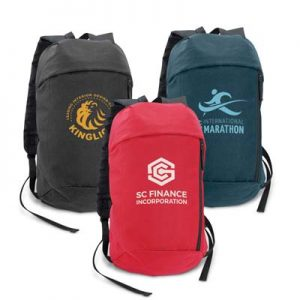 The Trends Collection Compact Backpack is an affordable small backpack - ideal for travelling. 3 colours. Great branded cost effective backpacks.
