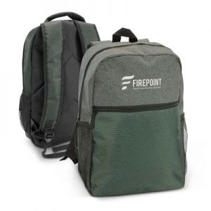 The Trends Collection Velocity Backpack is a sophisticaed backpack with 2 internal slip pockets with pen holders.  Great branded backpacks from Trends Collection.