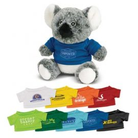 The Trends Collection Koala Plush Toy is a soft koala plush toy with tee. 9 colours. Great branded awareness promo products from Trends Collection.