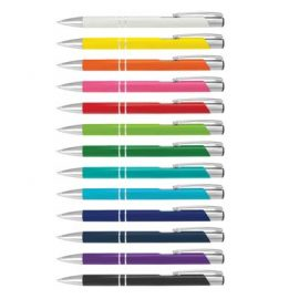 The Trends Collection Panama Pen Corporate is a retractable aluminium ball pen.  13 colours.  Printed or engraved.  Great branded pens from Trends Collection.