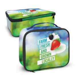 The Trends Collection Zest Lunch Cooler Bag is a smart 5L lunch cooler bag.  Sublimation full colour.  Great lunch boxes from Trends Collection.