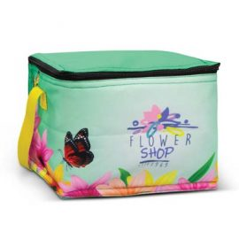 The Trends Collection Alaska Cooler Bag is a full colour sublimation printed 4.2L cooler bag.  10 colours.  Great branded full colour cooler bags from Trends Collection.