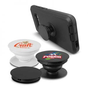 The Trends Collection Wizard Phone Grip is a unique phone grip with compact 10mm profile that sticks to phone. 2 colours. Great branded promo products.