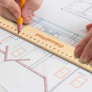 The TRENDS Wooden 30cm Ruler is a 30cm ruler made from beech wood. Printed or engraved. Great branded wooden rulers & promotional products.