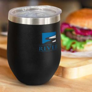 The TRENDS Cordia Vacuum Cup - Powder Coated is a 300ml double wall, vacuum insulated coffee cup. 4 colours. Great branded stainless steel drinkware.