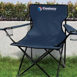 The TRENDS Niagara Folding Chair is a robust chair with arm rests and drink holders.  3 colours.  Great branded folding chairs, ideal for leisure events.