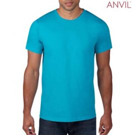 The Anvil Lightweight Adult Tee is a 155gm pre shrunk 100% ring spun cotton tee. 16 colours. S - 3XL. Great branded cotton lightweight tees.