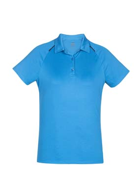 The Biz Collection Ladies Academy Polo is a 100% Biz Cool polyester polo. 8 - 24. 6 colours. Great branded contrast polos from Biz Collection.