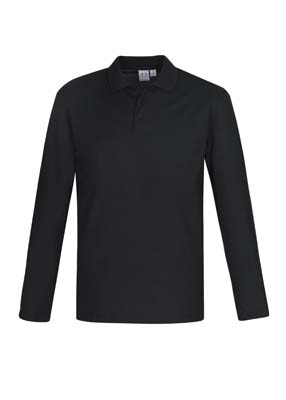 The Biz Collection Mens Crew Long Sleeve Polo is a 65% polyester, 35% cotton pique long sleeve polo. 3 colours. Great branded long sleeve polo shirts.