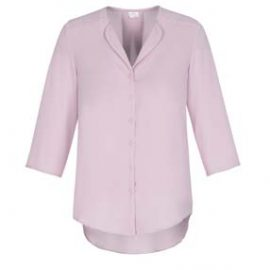 The Biz Collection Ladies Lily Longline Blouse is a polyester, fashion forward blouse. 4 colours. 6 - 26. Great ladies workwear from Biz Collection.