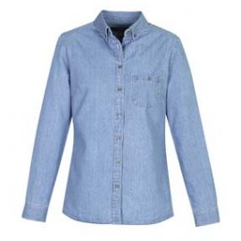 The Biz Collection Ladies Indie Long Sleeve Shirt is a 100% cotton, 160gsm long sleeve shirt. 3 colours. 6 - 20. Great work shirts from Biz Collection.