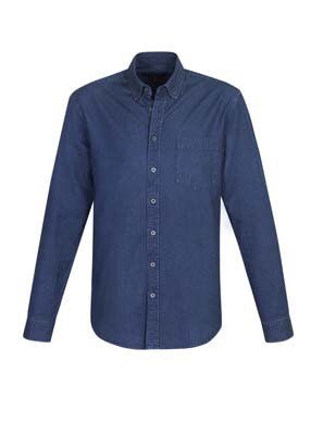The Biz Collection Mens Indie Long Sleeve Shirt is a 100% cotton, 160gsm long sleeve shirt. 3 colours. XS - 3XL. Great work shirts from Biz Collection.